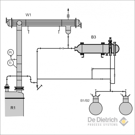 Distillation with phase separation