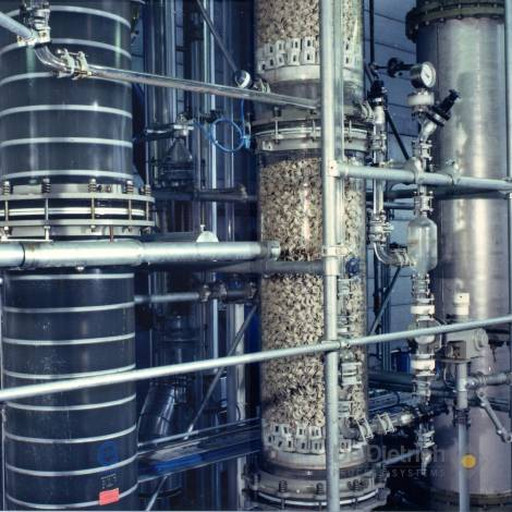 Recovery of high boiling organics from waste water | De