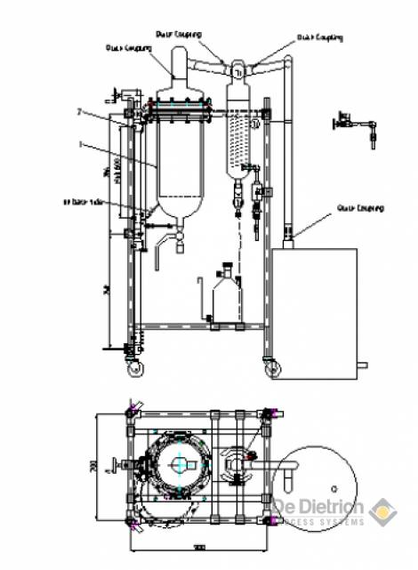 hydrodistillation unit  chemistry equipment