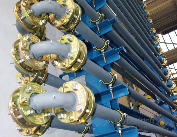 ED Type: jacketed pipe heat exchanger