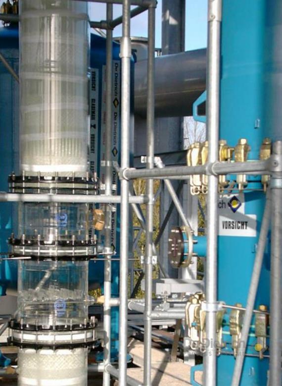 Distillation Equipment For Chemistry De Dietrich Process