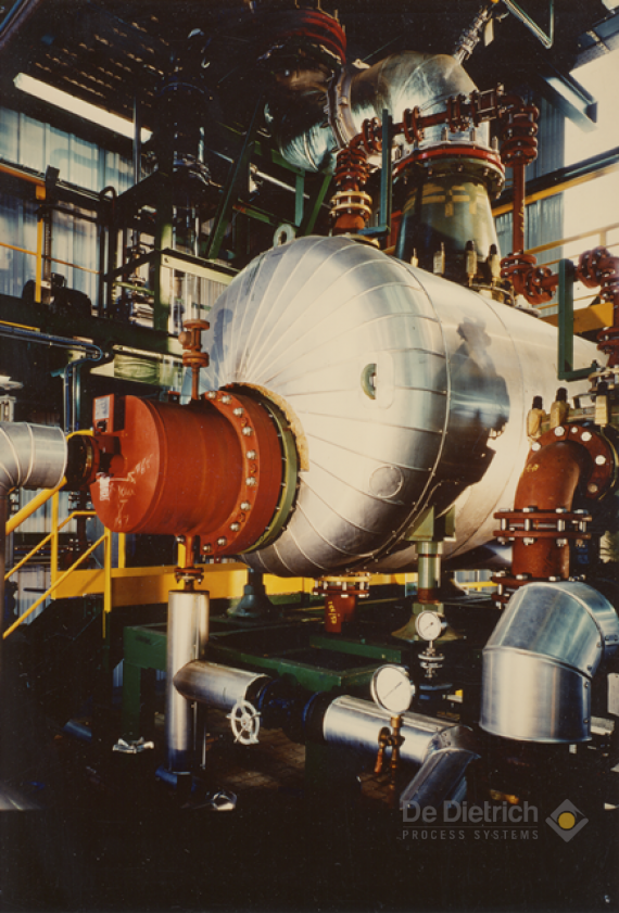 High concentration of sulfuric acid   De Dietrich Process Systems