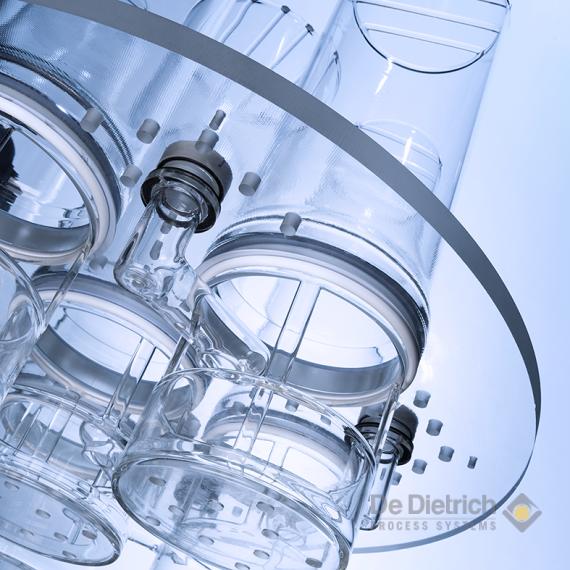 Qvf Glass Components De Dietrich Process Systems