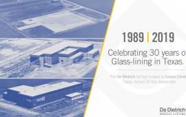 Celebrating the 30 years of the Corpus Christi plant.