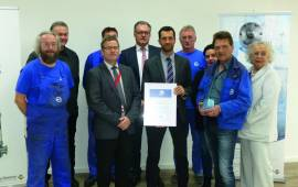 Work safety excellence at De Dietrich Process Systems